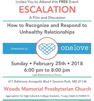 One Love Foundation – How to Recognize & Respond to Unhealthy Relationships