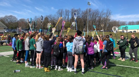 GIRLS LAX SPRING KICK-OFF CLINIC Pics!
