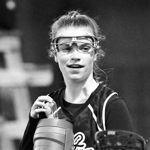 8th Grade Junior, Schoenberger on a game night water break