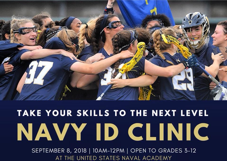 Navy ID Clinic September 8, 2018 10am – 12pm Grades 3 – 12!