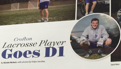 Jack Kerr is Living in the Triangle's Athlete of the Month, Congrats!