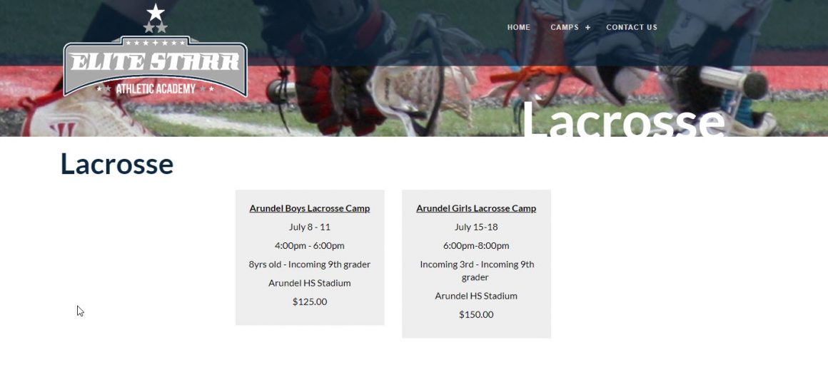 Elite Starr Lacrosse Camp