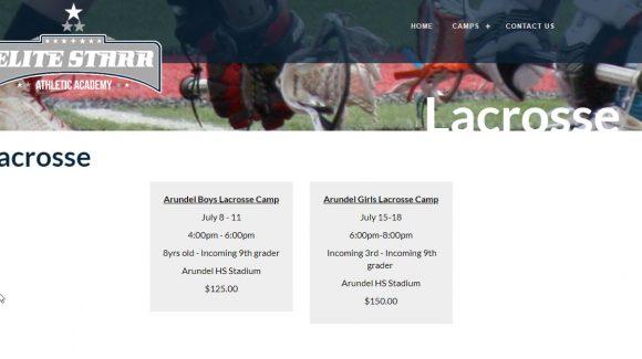 Elite Starr Lacrosse Camp