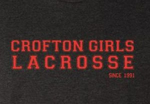 Crofton Girls LAX Fundraiser Tee!