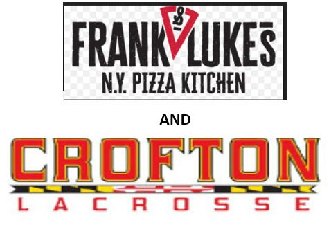 Frank & Luke's Crofton Girls Lacrosse Night!  Wednesday, February 17th ALL DAY! Bring Flyer!
