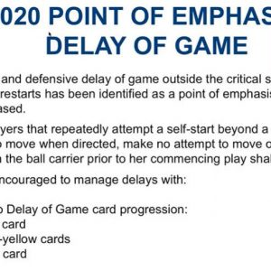 "**Important 2020 Point of Emphasis ""Delay of Game"" Ref Bowker Explains!**"