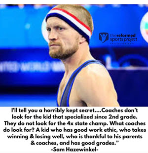 "~Sam Hazewinkel ""American wrestler who won the 2012 U.S. Olympic Trials and competed at the 2012 Olympics in freestyle."""